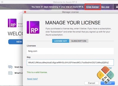axure license key 8