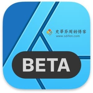 Affinity Designer 1.9.0.4 Beta Mac中文破解版
